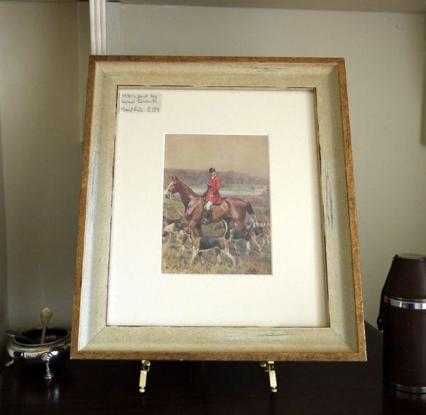 Huntsman with Hounds on the moor - Lionel Edwards - Hunt E21